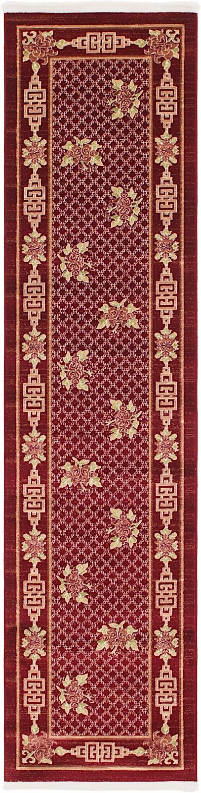 ming country & floral area rug collection