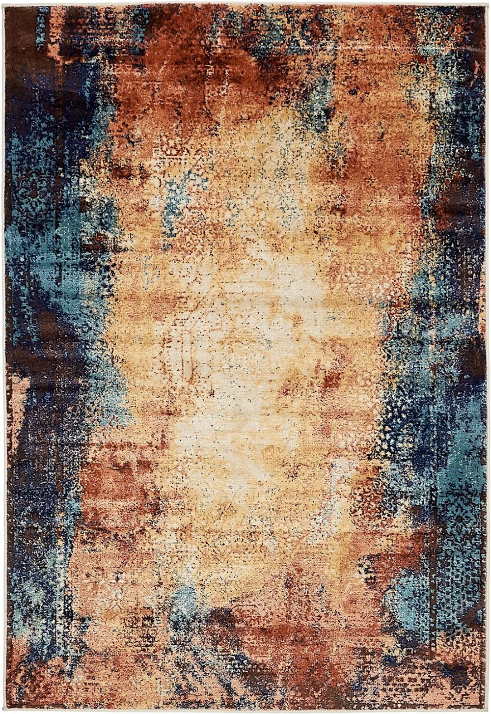 spiritual transitional area rug collection