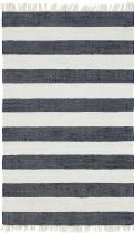 Solid/Striped Carlotta Area Rug Collection